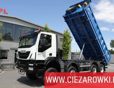 Iveco dump truck Trakker , 8x8 , E6 , Retarder , manual, 2018 , 10 units for sale