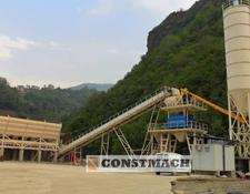 Constmach concrete plant DELIVERY FROM STOCK!, 100 m3/h CAPACITY FIX TYPE CONCRETE PLANT
