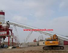 Constmach concrete plant 160 m3/h CAPACITY   2 YEARS WARRANTY, PREMIUM QUALITY