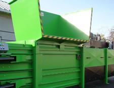 XZ press container BARTONTECH 800 Plus Belownica pozioma, Horizontal baler BARTONTE