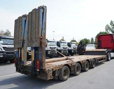 Faymonville low bed semi-trailer STN-4AU , 4 axles , extended , stretched , max 15,80 x 3,23m ,