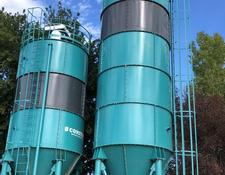 Constmach cement silo 50 TONNES CAPACITY WELDED TYPE CEMENT SILO, READY FROM STOCK