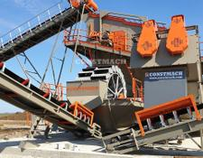 Constmach crushing plant High Efficiency Screw Washers ( Spiral Sand Washing Plant )For S