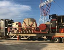 Constmach crushing plant 60-80 tph CAPACITY MOBILE CRUSHING PLANT