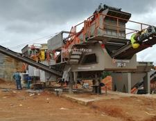 Constmach crushing plant MOBILE CRUSHING AND SCREENING PLANT FOR HARD STONES