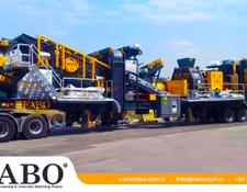 Fabo FULLSTAR-60 MOBILE JAW + CONE CRUSHER | 60-100 TPH