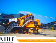 Fabo mobile crushing plant