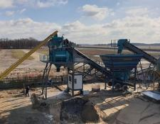 Constmach concrete plant 100 m3/h CAPACITY PORTABLE CONCRETE BATCHING PLANT, FROM EUROPE