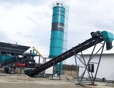 Constmach concrete plant 45 m3/h MOBILE & COMPACT TYPE CONCRETE PLANT, 2 YEARS WARRANTY!