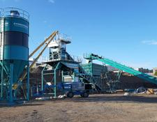 Constmach concrete plant 100 m3/h MOBILE CONCRETE PLANT, FROM EUROPE S MOST PREFERRED MAN